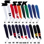 ローカットストッキング(リブ編み)  SSK エスエスケイ 野球 ストッキング (YA2201)