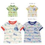【セール15%OFF】【メール便OK】bit'z(ビッツ)4色2柄半袖Tシャツ【男の子】【80-120】【b207011】
