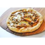 ミニピザ きのこ味噌ピザ SSサイズ12cm 卵、牛乳を使用しないアレルギー対応生地に無料で変更可能。