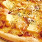 ピザ 冷凍ピザ カマンベールシーフードピザ(カマンベールチーズ エビ アサリ)職人の手作り ピザ生地 ピザ・シティーズ チーズ トマト