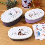 ムーミン シール容器3個セット(入れ子式)入学入園準備 Moomin 北欧 雑貨 おしゃれ かわいい ランチケース ランチボックス お弁当箱 日本製