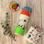 ムーミン パレット 保温保冷 軽量ワンプッシュステンレスマグボトル(360ml)Moomin ロック付 北欧 雑貨 おしゃれ かわいい コンパクト水筒 運動会