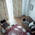DESIGN LIFE 北欧デザイン遮光カーテン(1枚)DAIRIN ダイリン(100×178)ウォッシャブル 形状記憶加工 国産 日本製 スミノエ