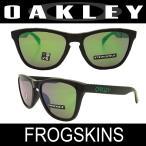 【国内正規品】OAKLEY オークリー サングラス フロッグスキン ポリッシュドブラック/プリズムジェード (FROGSKINS 9245-6454)