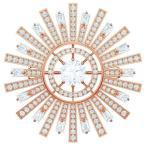 スワロフスキー Swarovski 太陽 SUNSHINE ブローチ 5465415