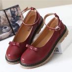 パンプス ローヒールパンプス ロリィタ靴