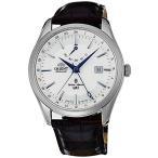 """【当店1年保証】オリエントORIENT """"Polaris GMT"""" Power Reserve Sapphire Watch White DJ05003W"""