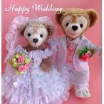 ダッフィーDuffy Wedding gorgeous ruffle pure white wedding dress and white tuxedo set No.40