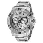 インヴィクタInvicta Men's 19695 Specialty Silver-Tone Stainless Steel Watch