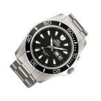 【当店1年保証】オリエントOrient Men's 'Mako XL' Japanese Automatic Stainless Steel Diving Watch, Color:Silver-Toned