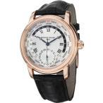フレデリックコンスタントFrederique Constant Men's FC718MC4H4 World Timer Analog Display Swiss Automatic Black Watch
