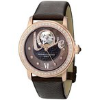 フレデリックコンスタントFrederique Constant Women's FC310CLHB2PD4 Ladies Automatic Brown Open Dial Diamond Watch