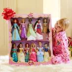 ディズニーDisney Exclusive Princess Doll Collection - 12''- (11 Dolls:Snow White, Cinderella, Aurora, Ariel, Belle, Jasmine,