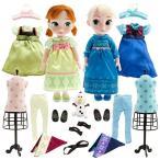 アナと雪の女王Disney Store Deluxe Frozen Animators Elsa and Anna Toddler Doll Gift Set