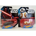 BB-8Set of 2 Premium 2015 Star Wars Hot Wheels - Based On The New Movie, The Force Awakens! Includes:Includes: #17 Kylo Ren & #18