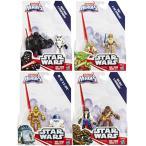 R2-D2Playskool Heroes Star Wars Galactic Heroes 4 Pack Set including Yoda, Luke, R2D2, C3P0, Chewbacca, Han Solo, Darth Vader, and