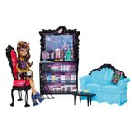 モンスターハイMonster High Coffin Bean and Clawdeen Wolf Doll Playset