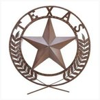壁飾りGifts & Decor Texas Lone Star State Hanging Western Theme Wall Plaque
