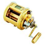 リールDaiwa Dendoh Marine Power Deep Sea Power Assist Fishing Reel, Gold - MP3000-12V