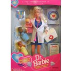 バービーDr. Barbie Doll w 3 Baby Dolls - Special Edition Career Collection (1995)