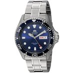 オリエントOrient Men's FAA02005D9 Ray 2 Analog Japanese Automatic Silver Watch
