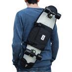 バックパックBackpack, shoulder bag for 26 and 27 inches cruiser skateboard. Black