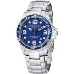 """ダニエルウェリントンStuhrling Original Watches Mens """"Specialty Grand Regatta"""" Stainless Steel Professional Swiss Quartz Dive Watch"""