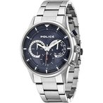 ポリスPolice 14383JS-04M Mens Driver Silver Chronograph Watch