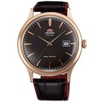 "オリエントORIENT ""Bambino 4"" Classic Automatic with Hand Winding Rose Gold Watch FAC08001T"