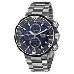 オリスOris Men's 77476837154SET ProDiver Chronograph Analog Swiss Automatic Silver Watch