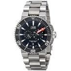 オリスOris Men's 74976777154MB Aquis Titanium Automatic Watch with Link Bracelet