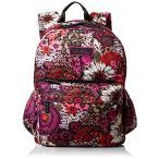 ヴェラブラッドリーVera Bradley Lighten Up Just Right Backpack, Rosewood, One Size