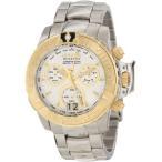 インヴィクタInvicta Men's 10648 Subaqua Noma II Chronograph Silver Dial Watch