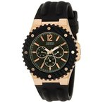 ゲスGuess W12653G1 Mens OVERDRIVE Multifunction Watch