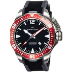 【当店1年保証】ハミルトンH77805335 Mens Khaki Navy Frogman Automatic Mens Watch
