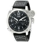 オリスOris Men's 690 7615 4164 LS BC4 Flight Timer Analog Display Automatic Self Wind Black Watch