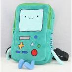 アドベンチャータイムAdventure Time BMO Beemo Plush Backpack School Bag Mini Rucksack