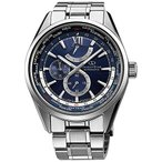 【当店1年保証】オリエントORIENT watch ORIENTSTAR Orient Star World Time mechanical self-winding Navy WZ0041JC Men
