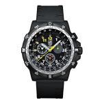 ルミノックスNew Luminox 8841.KM.SET Recon III Leader Kilometers Chronograph Men's Watch Extra Military Nylon Strap Included