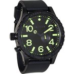 【当店1年保証】ニクソンNixon 51-30 Tide Black Dial Black PVD Mens Watch A0581256