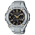 カシオCasio Men's GST-S110D-1A9 G-Shock G-Steel