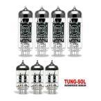 真空管Tung-Sol Tube Upgrade Kit For Hughes & Kettner GrandMeister 36 Amps EL84/12AX7