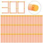 ナーフFoam Bullets, Yamix 300-Dart Refill Pack Refill Darts Foam Darts for nerf n strike elite series blasters - Orange