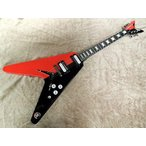 ディーンFree Shipping Dean USA Michael Schenker Red/black Limited 50 Pc 14/50 Guitar USAMichaelSchenkerRed/Black