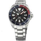 【当店1年保証】セイコーSeiko Men's Prospex Special PADI Edition Samurai Black Dial Stainless Steel Bracelet Watch - M