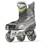 インラインスケートMission Inhaler AC7 Youth Inline Hockey Skates, E