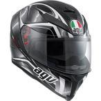 ヘルメットAGV K-5 Hurricane SV Motorcycle Helmet Black/Gunmetal Gray XL