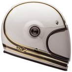 ヘルメットBell Bullitt Unisex-Adult Full Face Street Helmet (Rsd Mojo White/Gold, X-Large) (D.O.T.-Certified)