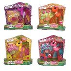 ララループシーLaLaLOOPSY Ponies Bundle of 4 : Jamberry, Pina, Pinkmelon and Tangerine
