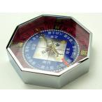 コンパス 方位磁石 方位磁針 G-509 風水九星表示 日本製 クリアー光学